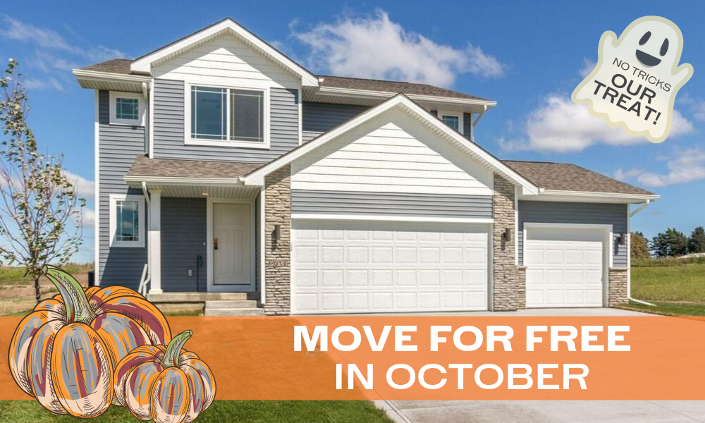 Don't be FRIGHTENED to move this fall