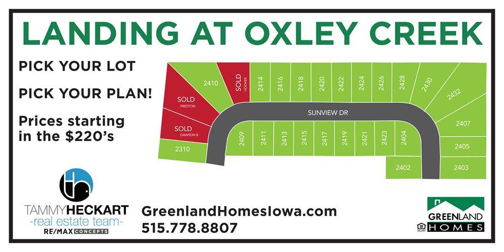 More Options at Oxley Creek in Granger