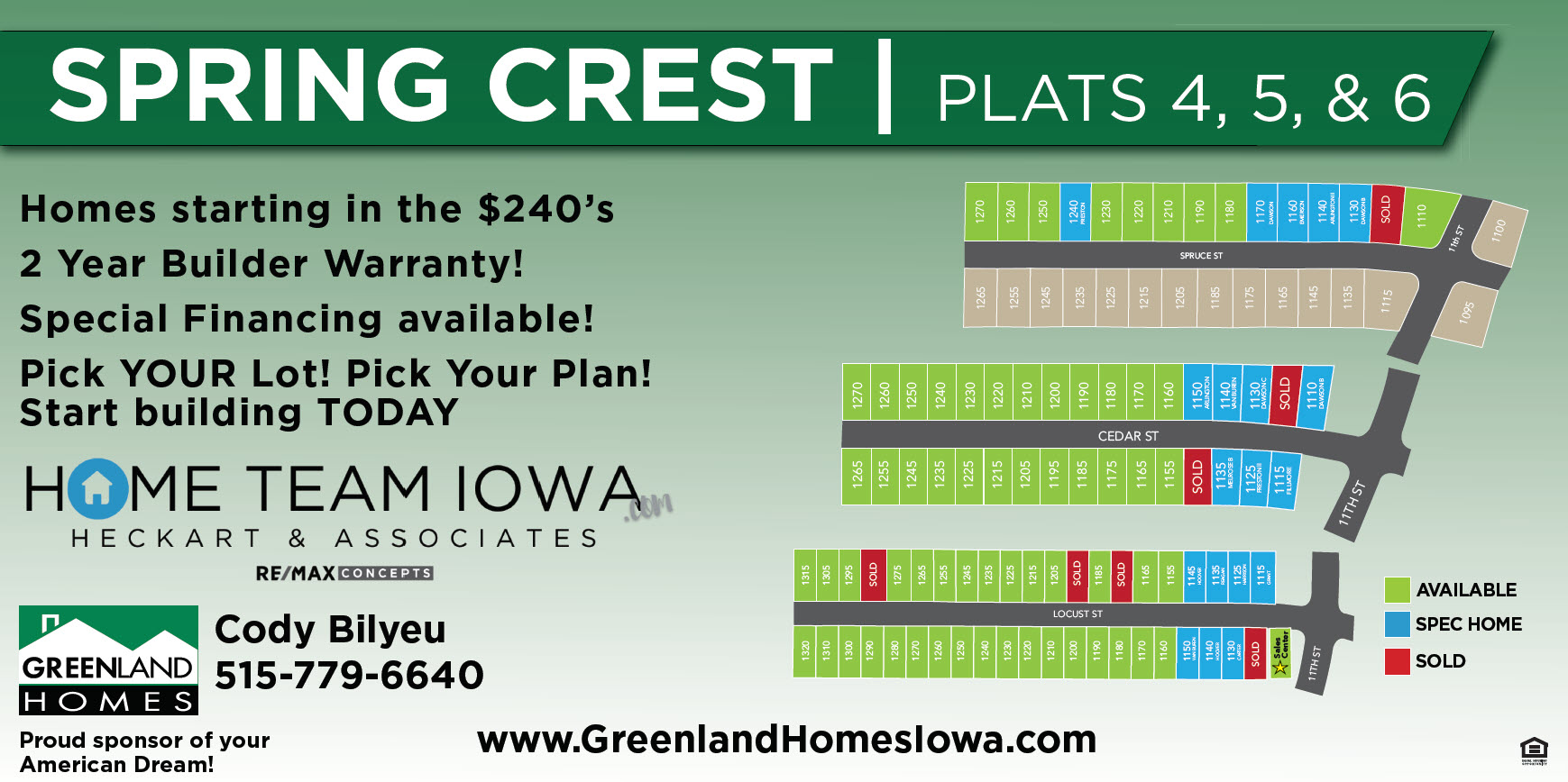 More Options at Spring Crest in Waukee